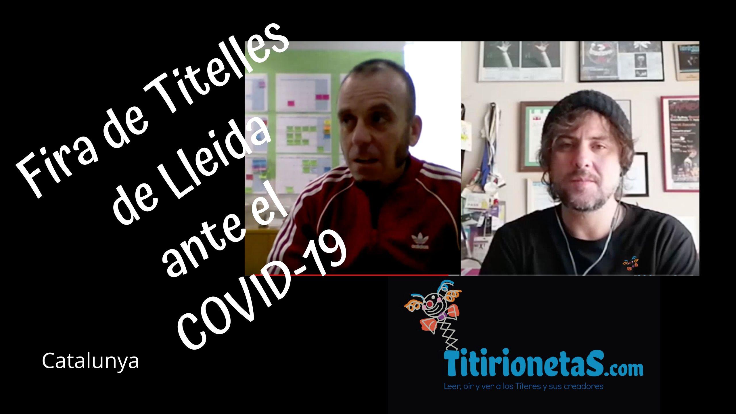 Fira de Titelles de Lleida (Catalunya) ante el COVID-19