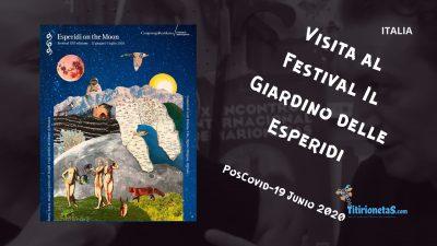 """Visita Festival """"Il Giardino delle Esperidi"""" Italia PosCovid 19"""